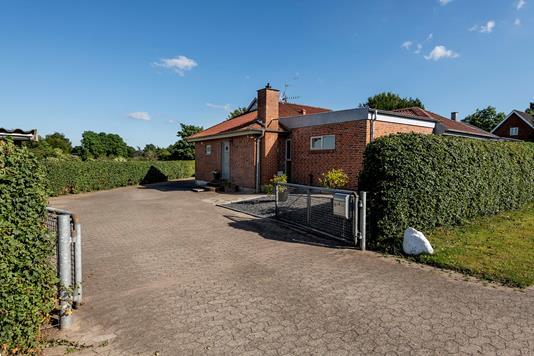 Villa på Gl. Aalborgvej i Tjele - Facade